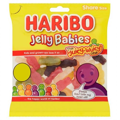 HARIBO Jelly Babies Bag 180g (UK)